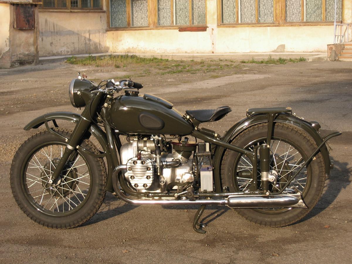 мотоцикл m-72 схема электрооборудования