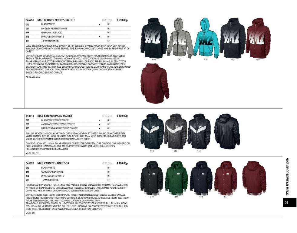 b3982ae0 Каталог спортивной одежды от Nike Зима 2013