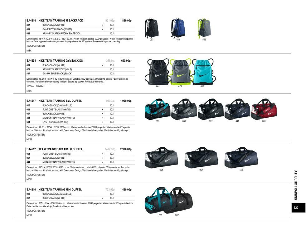 541a7c9c Каталог спортивной одежды от Nike Зима 2013 - Сумки